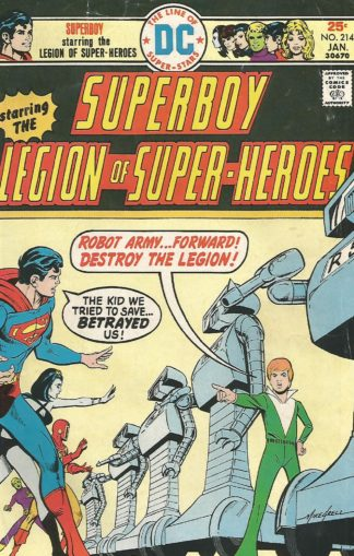 Superboy #214