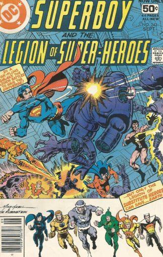 Superboy #243