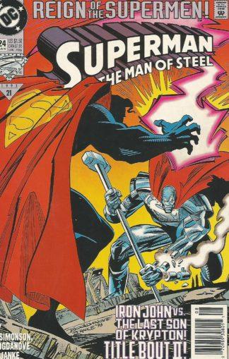 Superman The Man of Steel #24