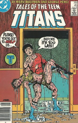 Tales of the Teen Titans #045