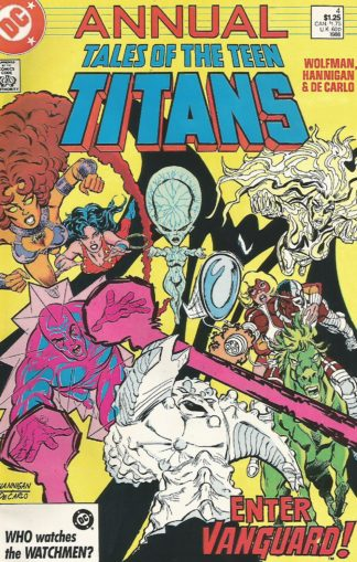 Tales of the Teen Titans Annual #04