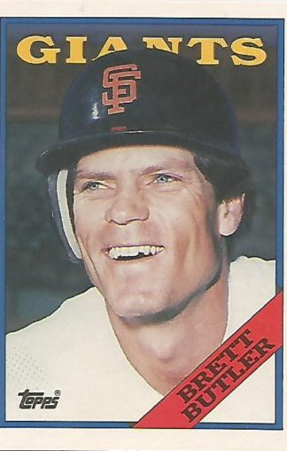 1988 Topps Traded #022t Brett Butler