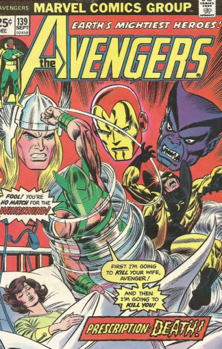 Avengers #139