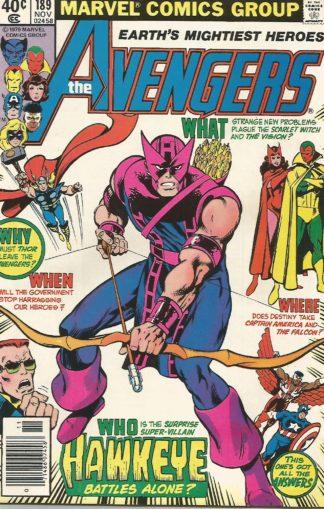 Avengers #189