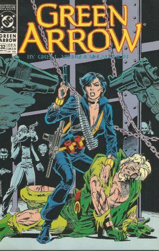 Green Arrow Volume 2 #032