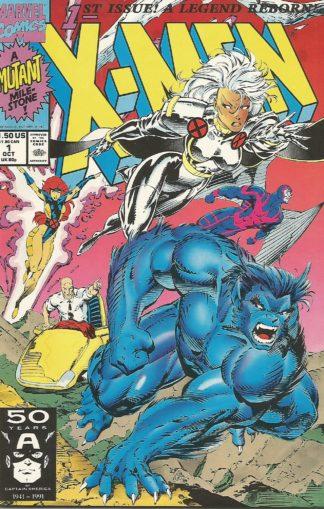 X-Men #001a