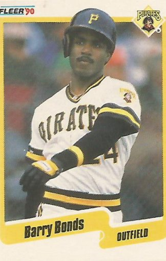 1990 Fleer #461 Barry Bonds