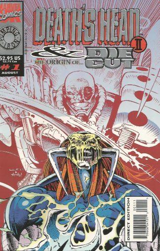 Death's Head II and Die-Cut #001