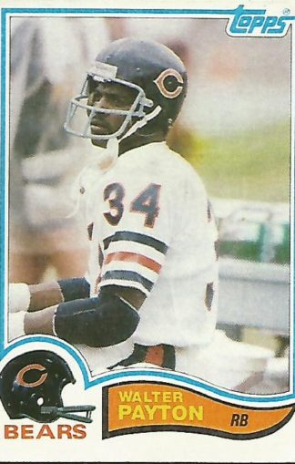 1982 Topps #302 Walter Payton