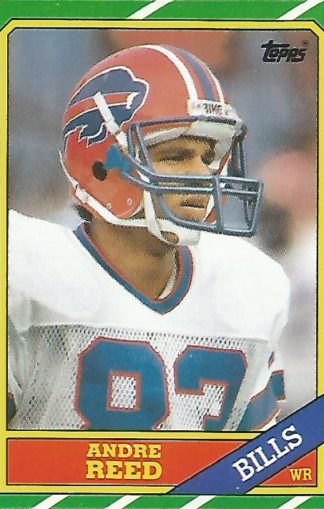 1986 Topps #388 Andre Reed Rookie