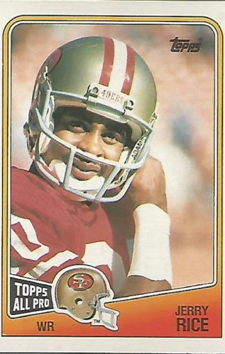 1988 Topps #043 Jerry Rice