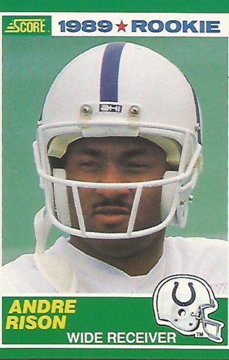 1989 Score #272 Andre Rison Rookie