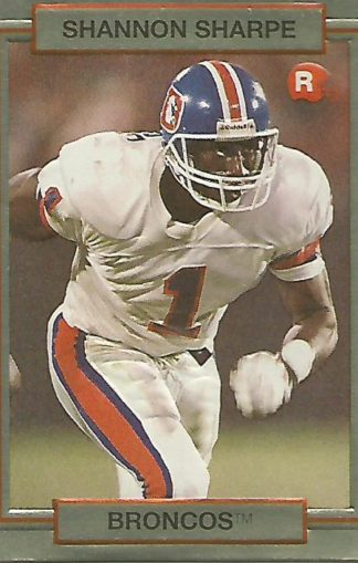 1990 Action Packed Rookie Update #046 Shannon Sharpe