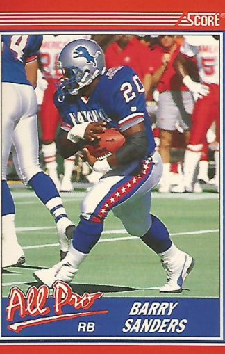 1990 Score #580 Barry Sanders All-Pro
