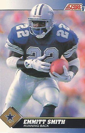 1991 Score #015 Emmitt Smith