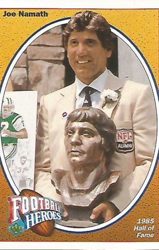 1991 Upper Deck Joe Namath Heroes #017