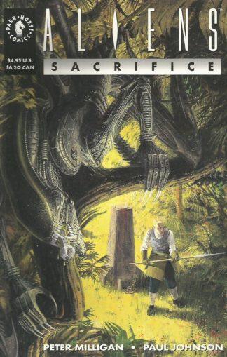 Aliens Sacrifice #001