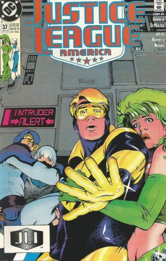 Justice League America #037