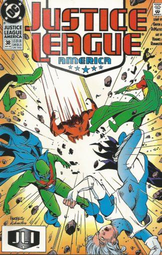 Justice League America #038