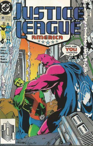 Justice League America #039