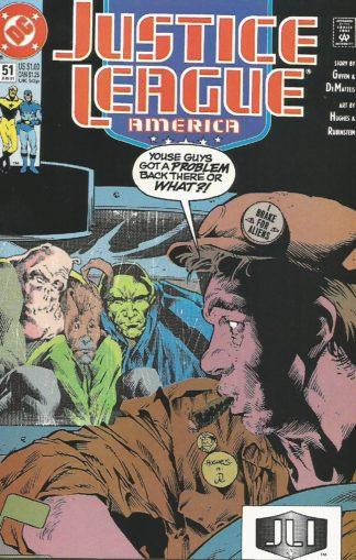 Justice League America #051