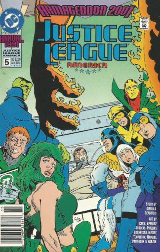 Justice League America Annual #005