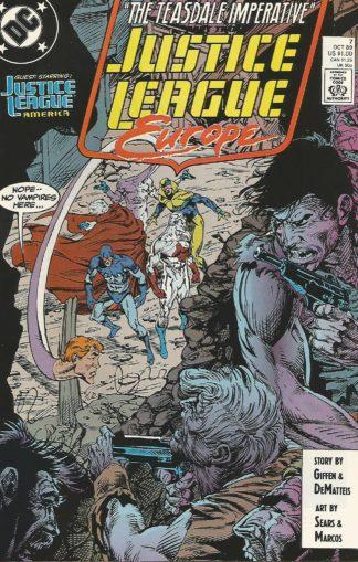Justice League Europe #007
