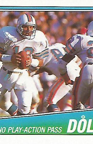 1988 Topps #186 Dan Marino Team Leader