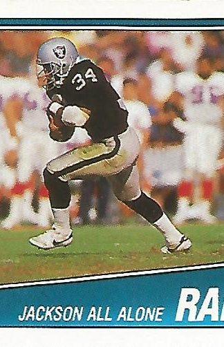 1988 Topps #325 Bo Jackson Team Leader