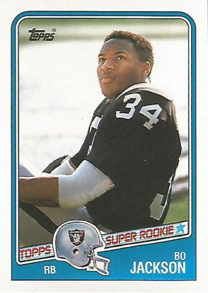 1988 Topps #327 Bo Jackson Rookie