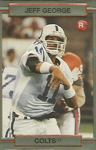 1990 Action Packed Rookie Update #001 Jeff George Rookie