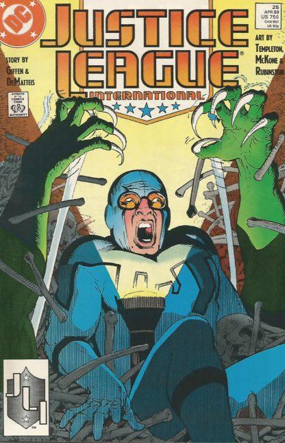 Justice League International #025