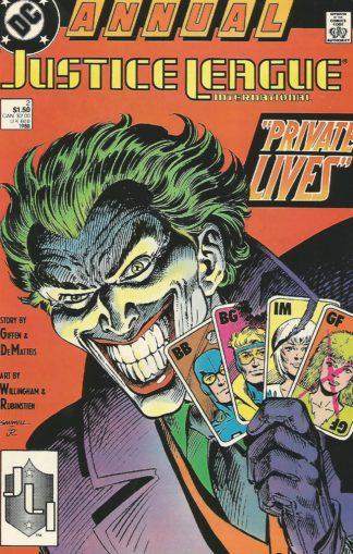 Justice League International Annual #002
