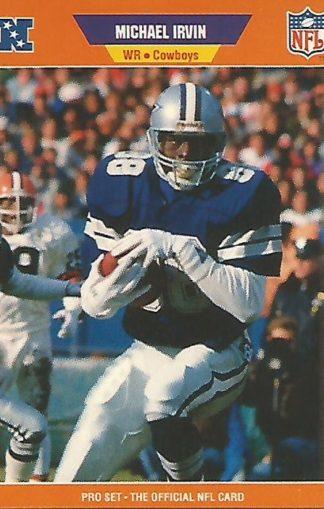 1989 Pro Set #89 Michael Irvin Rookie