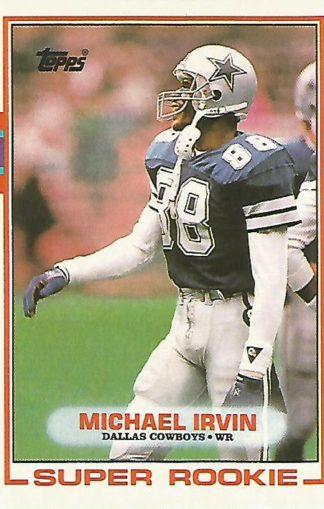 1989 Topps #383 Michael Irvin Rookie