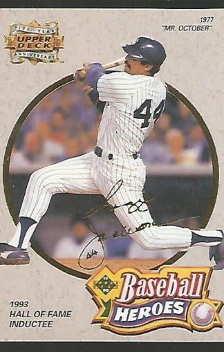 1993 Upper Deck Fifth Anniversary #A9 Reggie Jackson