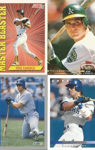 Jose Canseco Assortment (2)