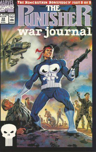 Punisher War Journal #033