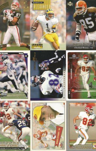 Derrick Alexander Cards