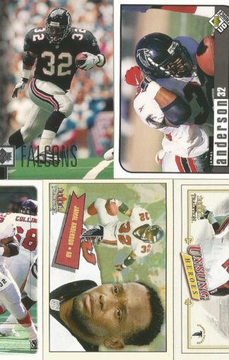 Jamal Anderson Cards