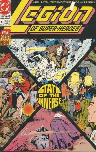 Legion of Super-Heroes Volume 4 #013