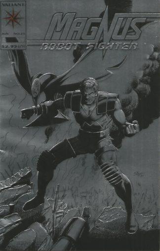 Magnus, Robot Fighter #025