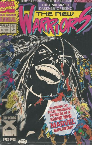New Warriors Annual #003
