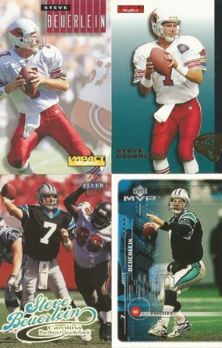 Steve Beuerlein Cards Lot 2