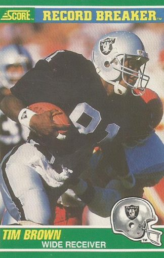 1989 Score #328 Tim Brown
