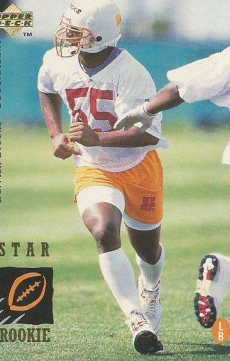 1995 Upper Deck #021 Derrick Brooks Rookie