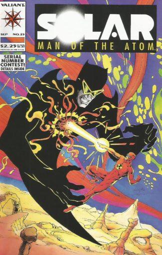 Solar, Man of the Atom #025