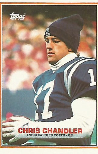 1989 Topps #209 Chris Chandler Rookie
