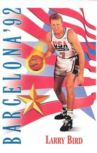 1991-92 Skybox #531 Larry Bird USA