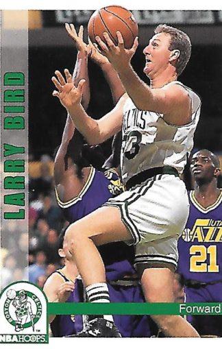 1992-93 Hoops #010 Larry Bird